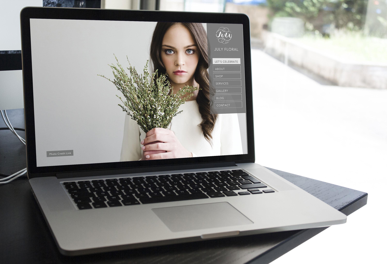 July-Floral-WebDesign